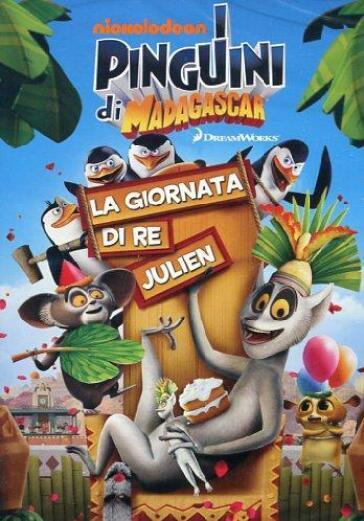 I pinguini di madagascar la giornata re julien dvd