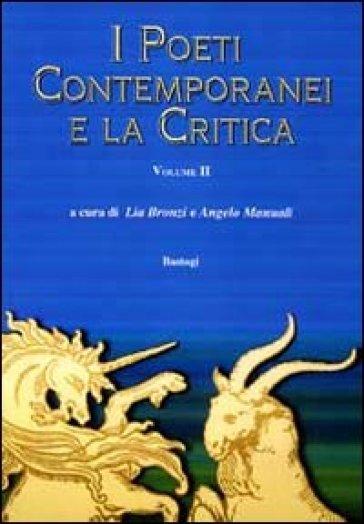 I poeti contemporanei e la critica. 2. - L. Bronzi | Rochesterscifianimecon.com