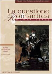 La questione romantica. Rivista interdisciplinare di studi romantici. Nuova serie (2009). 2.Ballads and narrative poetry