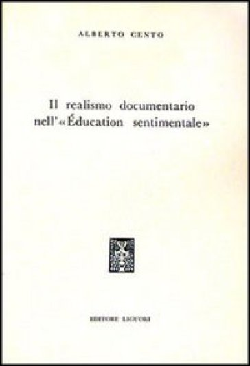 Il realismo documentario nell'«Education sentimentale»