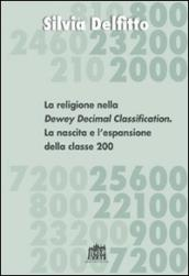 La religione nella Dewey Decimal Classification. La nascita e l