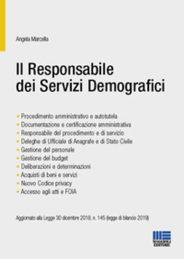 Il responsabile dei servizi demografici - Angela Marcella | Thecosgala.com
