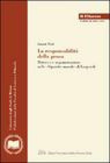 La responsabilità della prosa. Retorica e argomentazione nelle «Operette morali» di Leopardi - Laura Neri |
