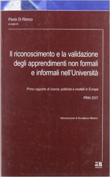 Il riconoscimento e la validazione degli apprendimenti non formali e informali nell'università - P. Di Rienzo | Rochesterscifianimecon.com
