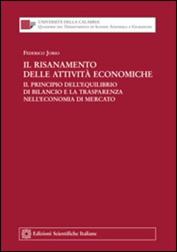 Il risanamento delle attività economiche - Federico Jorio pdf epub