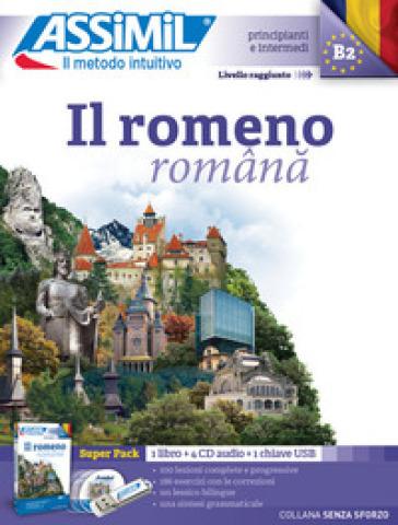 Il romeno. Con CD-Audio. Con 4 CD-Audio - Vincent Ilutiu |