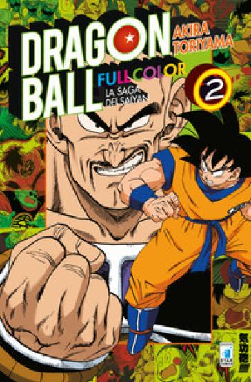 La saga dei Saiyan. Dragon Ball full color. 2. - Akira Toriyama   Thecosgala.com