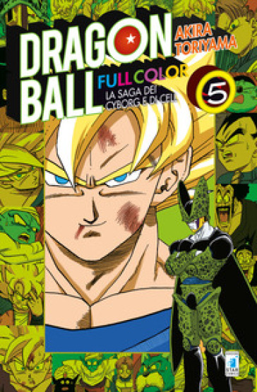 La saga dei cyborg e di Cell. Dragon Ball full color. 5. - Akira Toriyama |