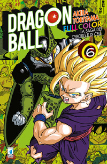 La saga dei cyborg e di Cell. Dragon Ball full color. 6. - Akira Toriyama   Thecosgala.com