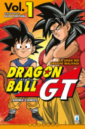 La saga dei draghi malvagi. Dragon Ball GT. Anime comics. 1.