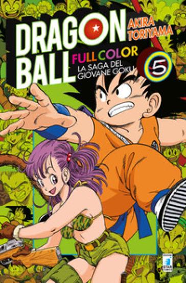 La saga del giovane Goku. Dragon Ball full color. 5.