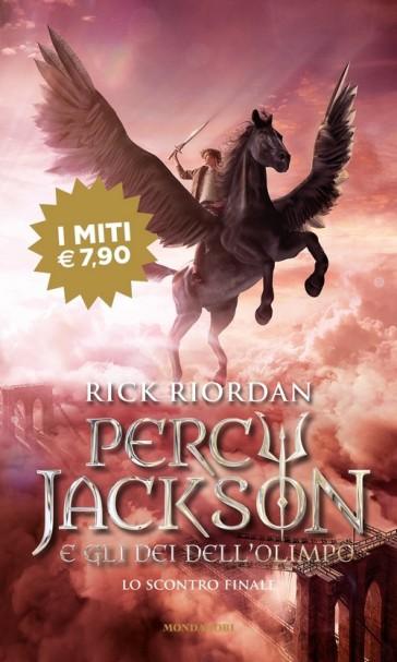 Lo scontro finale. Percy Jackson e gli dei dell'Olimpo. 5. - Rick Riordan | Thecosgala.com