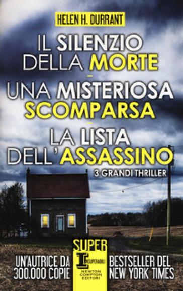Il silenzio della morte-Una misteriosa scomparsa-La lista dell'assassino - Helen H. Durrant   Rochesterscifianimecon.com