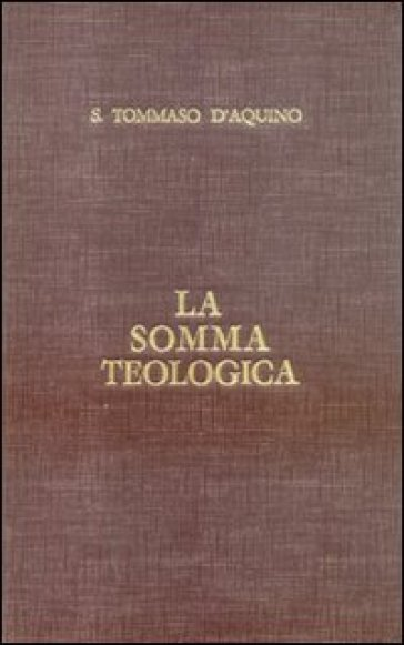 La somma teologica. Testo latino e italiano. 31.Il matrimonio - Tommaso D'Aquino | Kritjur.org