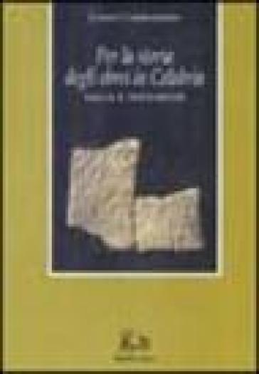 Per la storia degli ebrei in Calabria. Saggi e documenti - Cesare Colafemmina   Jonathanterrington.com