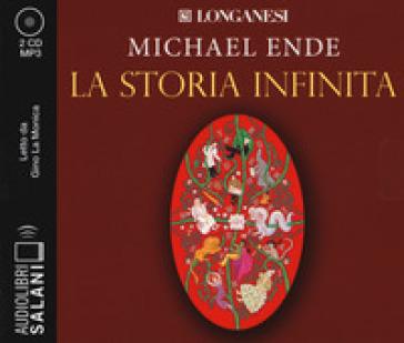 La storia infinita letto da Gino La Monica. Audiolibro. 2 CD Audio formato MP3 - Michael Ende |