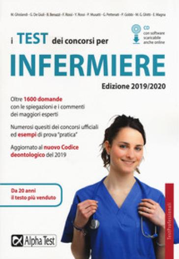 I test dei concorsi per infermiere. Con CD-ROM - Marta Ghislandi | Thecosgala.com