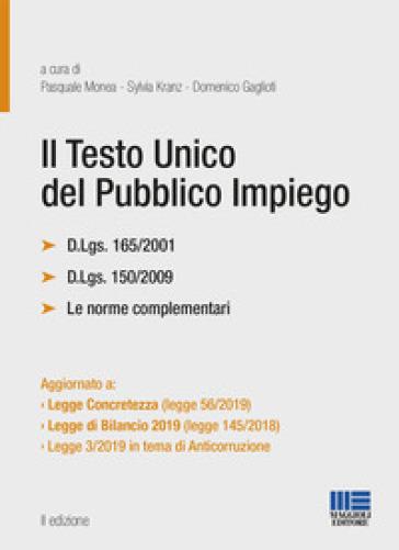 Il testo unico del pubblico impiego - P. Monea pdf epub