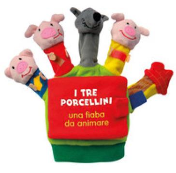 I tre porcellini. Una fiaba da animare. Ediz. illustrata - Francesca Ferri |