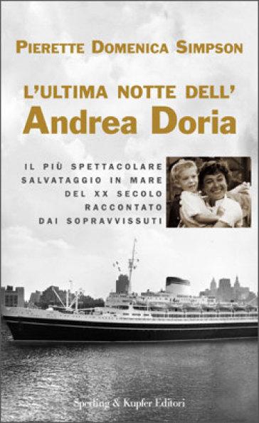 L'ultima notte dell'Andrea Doria - Pierette Domenica Simpson   Rochesterscifianimecon.com