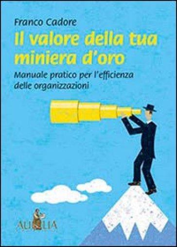 Il valore della tua miniera d'oro. Manuale pratico per l'efficienza delle organizzazioni - Franco Cadore pdf epub